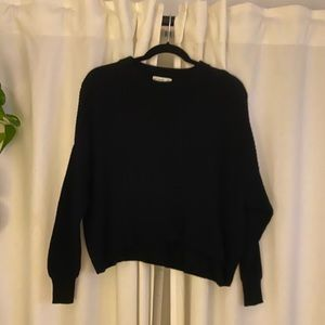Cotton On Sweaters - Cotton On black knit sweater